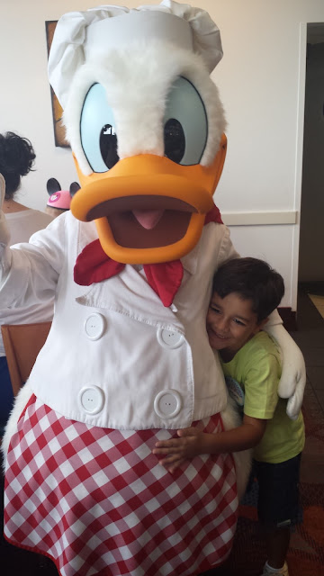 Pato Donald no Chef Mickey's