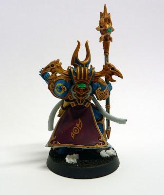 Thousand Sons Rubric Marine Aspiring Sorcerer for Warhammer 40,000