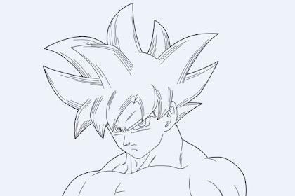 Goku Ultra Instinto Para Pintar Diviértete Con Estos Dibujos Para