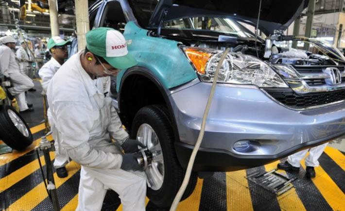 La planta de El Salto en Jalisco de Honda, produce también la HR-V para el mercado local y para los mercados de América, Europa y Asia. (Foto: El Financiero)
