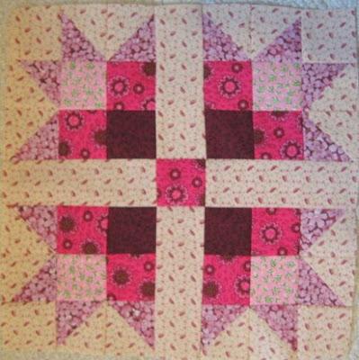 Pink Magnolia Quilt Pattern Block Tutorial