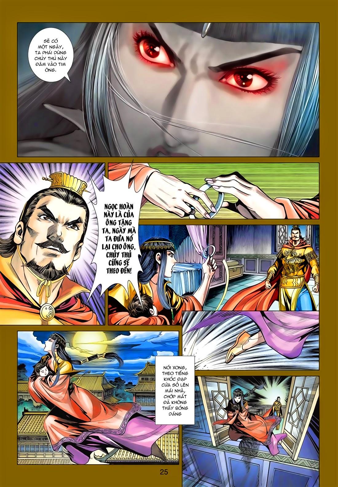 Anh Hùng Xạ Điêu anh hùng xạ đêu chap 78: sát anh trang 25