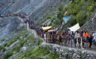 amarnath-yatra-progresses-smoothly-about-2-37-lakh-paid-obeisance-so-far