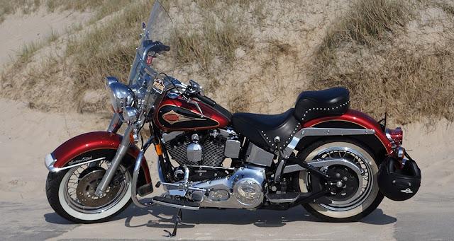 Fabriquées en Pennsylvanie et au Wisconsin, les Harley-Davidson font l'objet de droits de douane supplémentaires en Europe. - Shutterstock