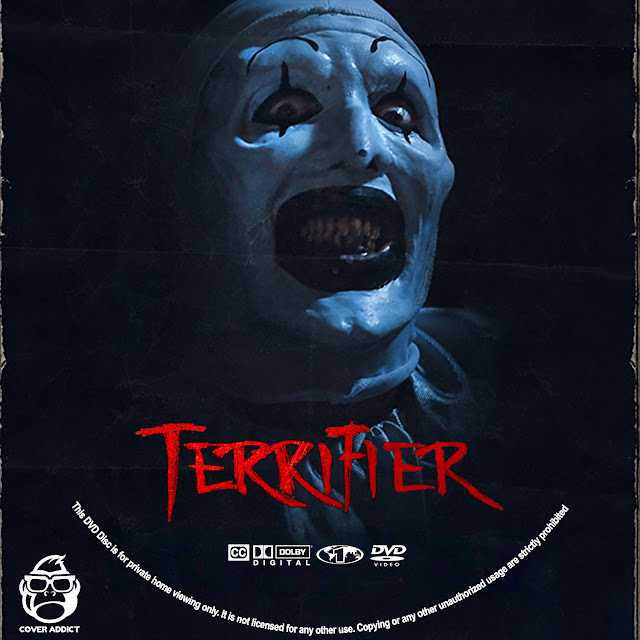 Terrifier DVD Label