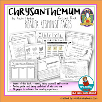 reader response pages, teaching resources, primary grades
