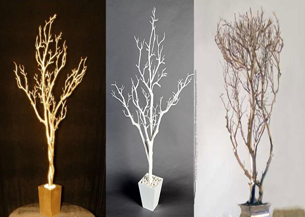 tree branch centerpieces. Black Bedroom Furniture Sets. Home Design Ideas