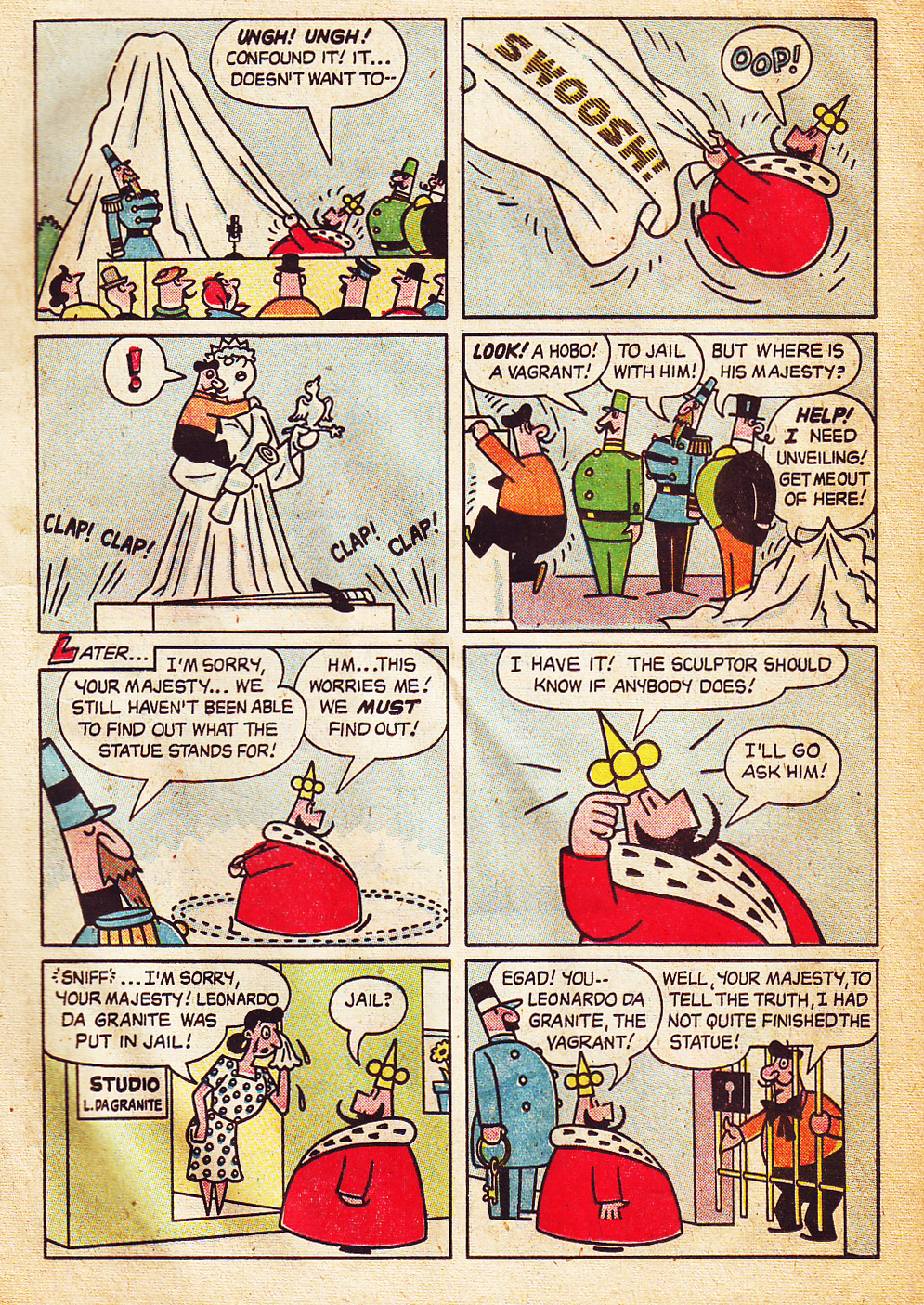mike lynch cartoons the little king by otto soglow and