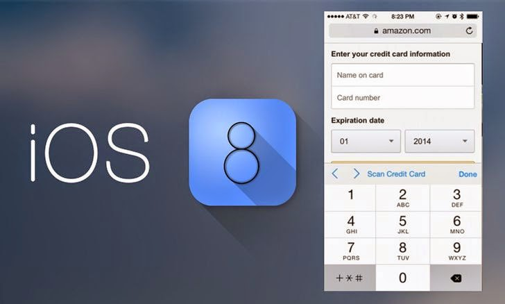 iOS 8 Safari Browser Can Read Your Credit Card Details Using Device Camera