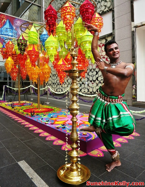 Deepavali, Pavilion KL, festival of light, indian dancer