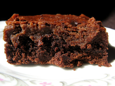 new oct+127a Double Chocolate Gooey Butter Cake