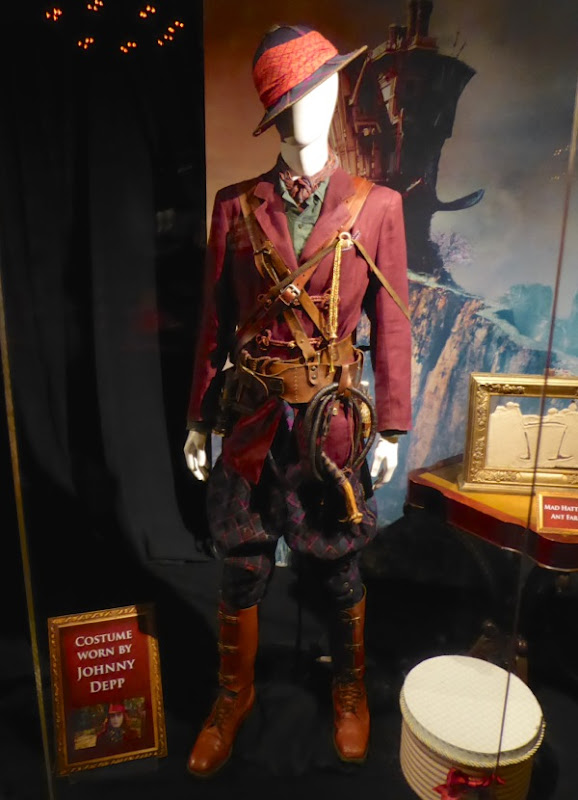 Johnny Depp Alice Through Looking Glass Mad Hatter movie costume