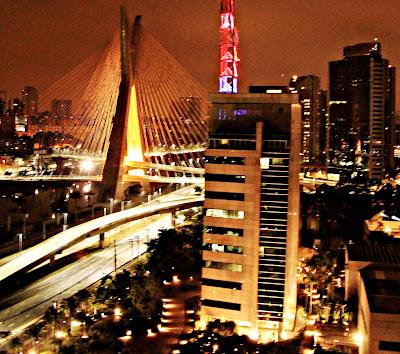 cartão postal de São Paulo