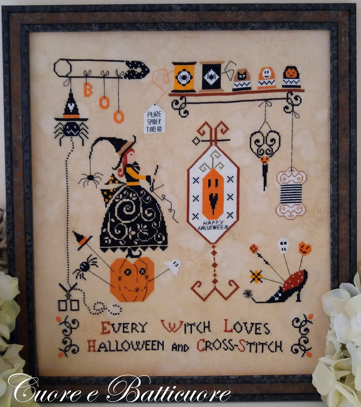 Halloween and Cross-Stitch