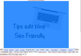 Tips Edit Blog Seo Friendly