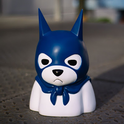 Bat Bear Resin Bust by Luke Chueh x Mighty Jaxx