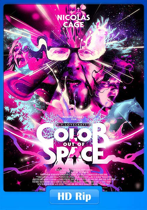 Color Out of Space 2019 720p HDRip x264 | 480p 300MB | 100MB HEVC Poster