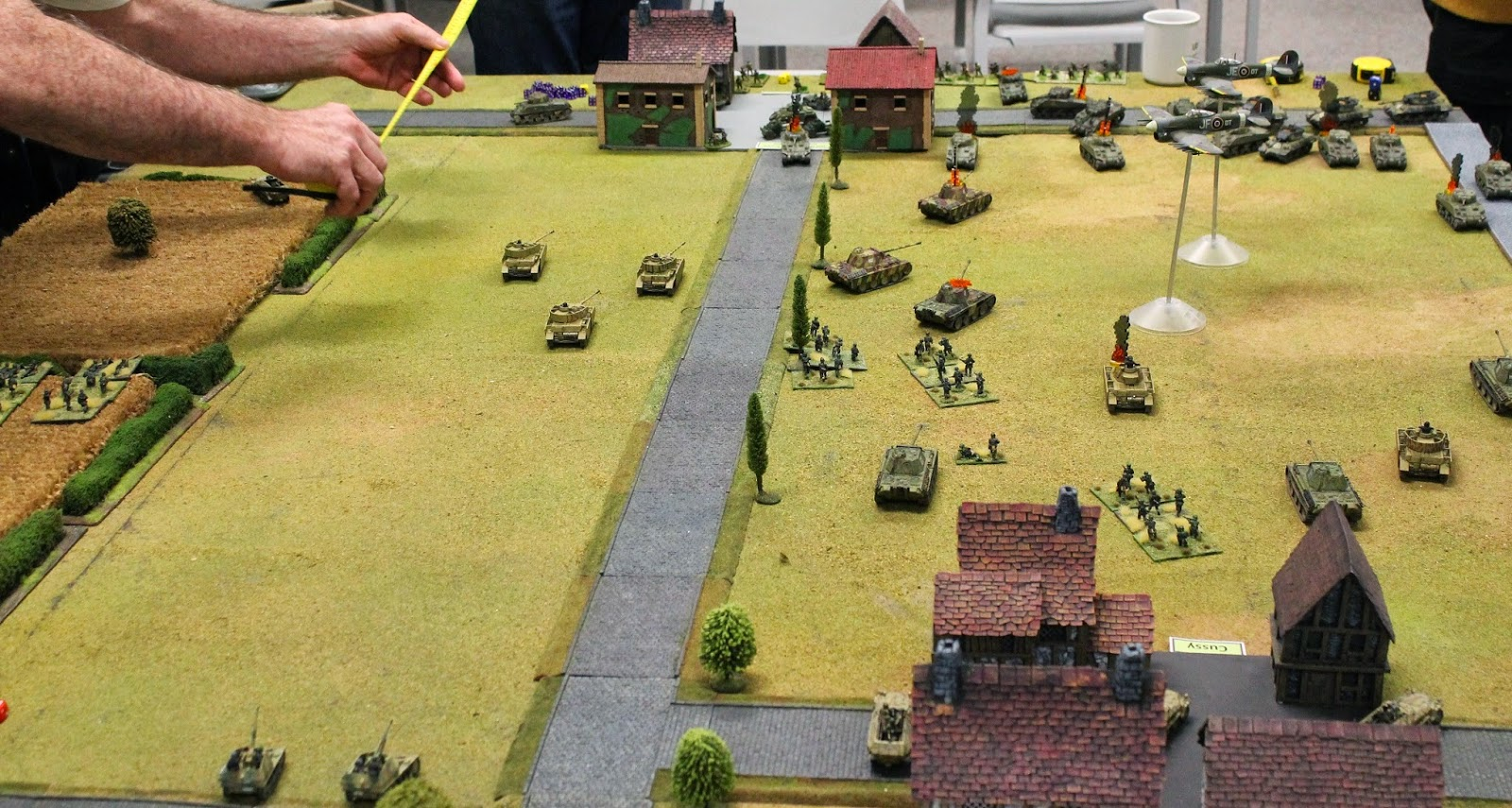 BGO Action at Authie 20mm game