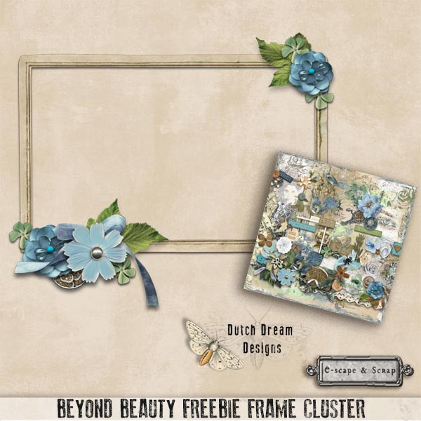 BEYOND BEAUTY by DUTCH DREAM DESIGNS - FREEbie Frame Cluster