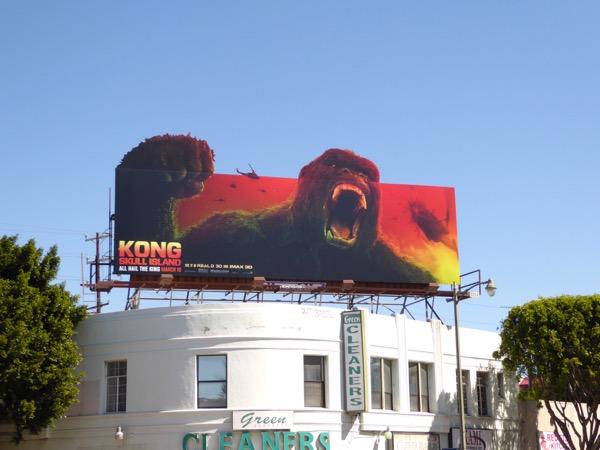 Kong Skull Island billboard