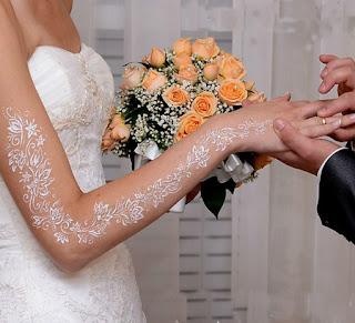 Идеи свадебного бодиарта