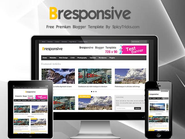 bresponsive Top best premium blogger templates free
