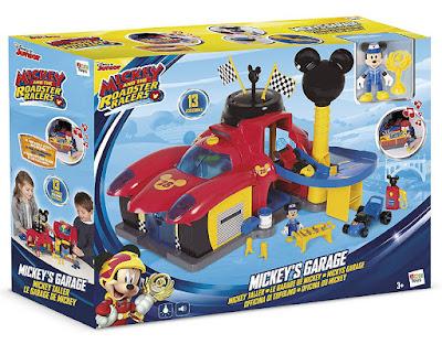 MICKEY Y LOS SUPERPILOTOS - Taller de Mickey : Garage | IMC toys | Serie Television 2017 | Disney Junior | CAJA JUGUETE