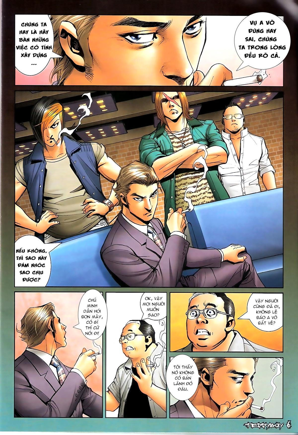 Người Trong Giang Hồ - Chapter 1322: Nói hung hăng - Pic 4