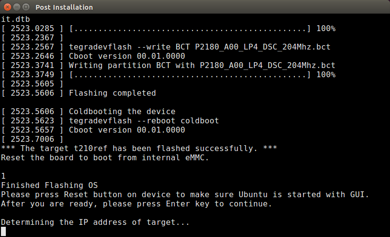 How to install JetPack on Jetson TX1 | My Public Notepad
