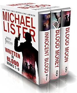 WRITTEN IN BLOOD VOL 3: INNOCENT BLOOD, BLOOD MONEY, BLOOD MOON: John Jordan Mysteries Collections  - 3 smart, suspenseful mysteries by Michael Lister