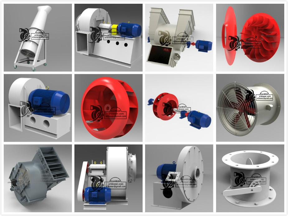 Radial Vs Axial Fan : Xianrun blower part one differences between