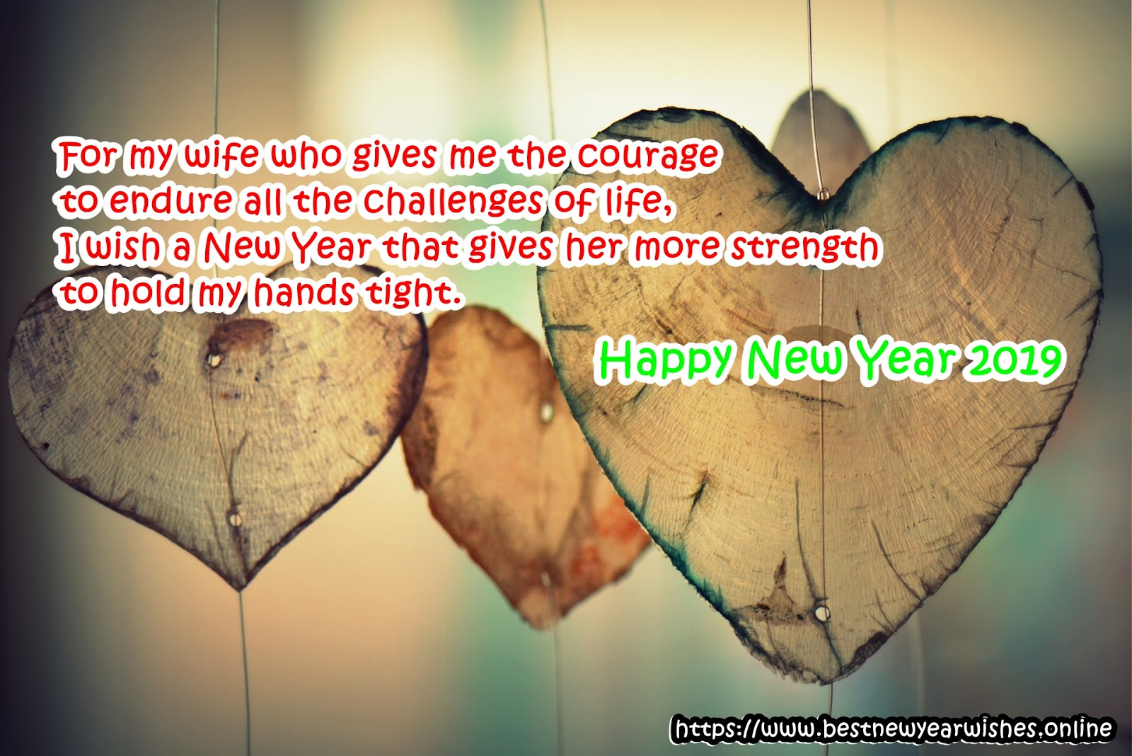 romantic new year messages for husband and wife