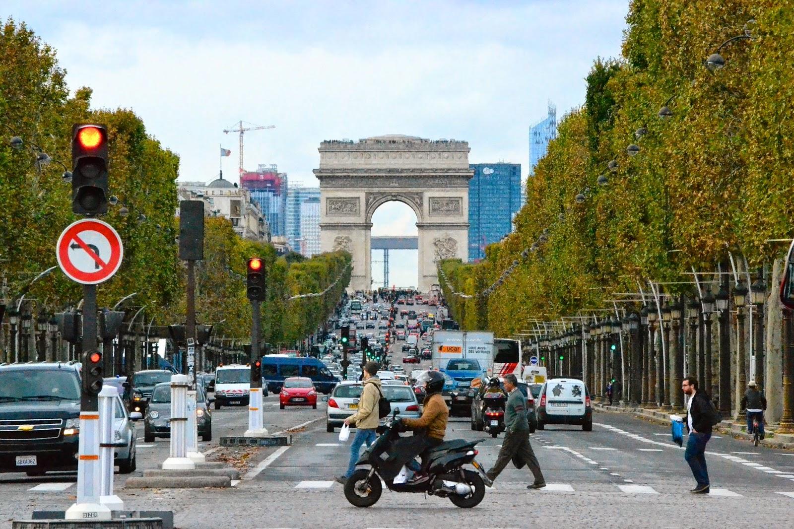 campos eliseos, paris, francia, guía de viaje