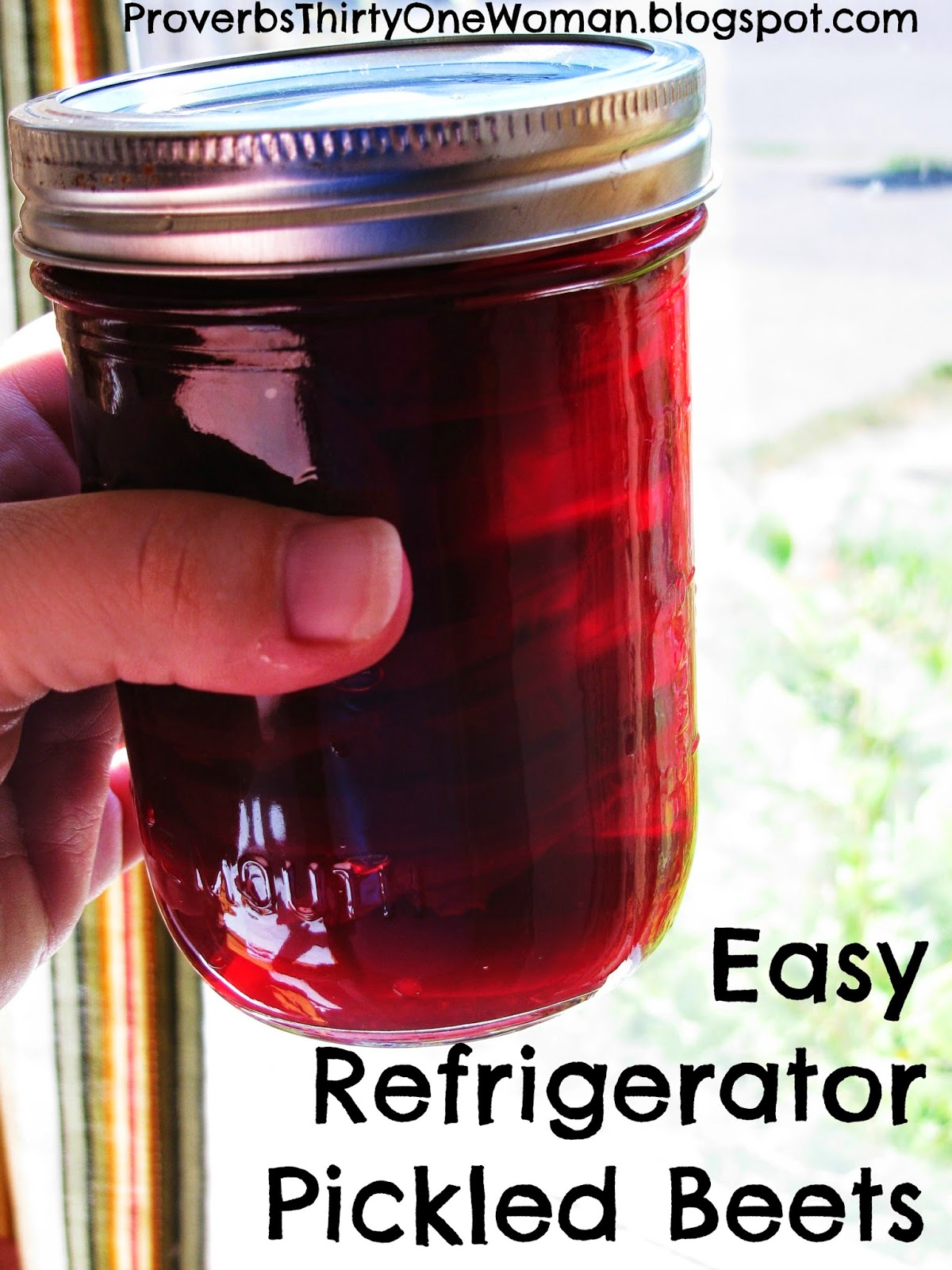 Easy Refrigerator Pickled Beets