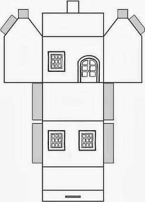 Molde de igreja para maquete