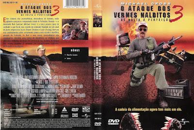 Filme O Ataque Dos Vermes Malditos 3 - De Volta a Perfeição DVD Capa