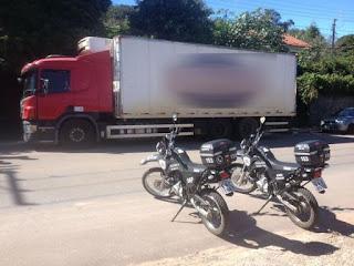 Caminhão roubado é localizado pela Guarda Municipal em Itatiba