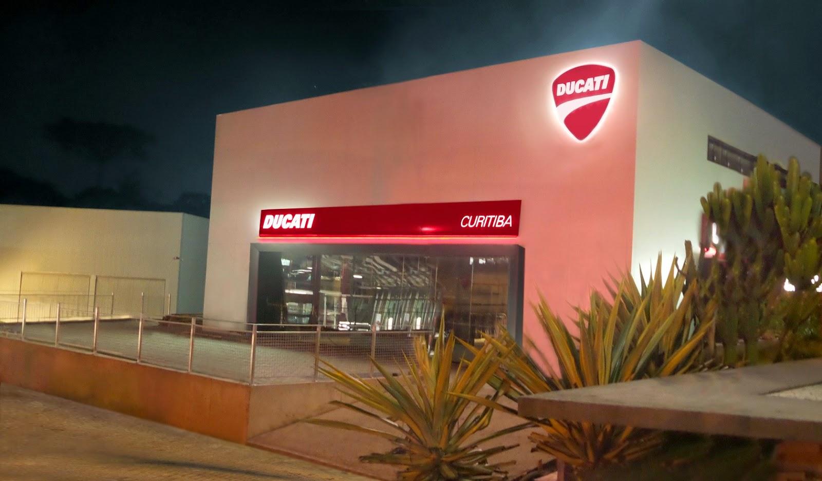1d081ed09 Open Day será no dia 24/5, das 9h às 17h, na concessionária. Será neste  sábado (24), o Grupo Servopa inaugura a Ducati Curitiba. A nova  concessionária ...