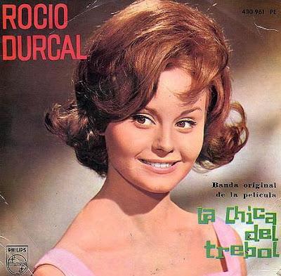 Foto de Rocío Dúrcal en portada de disco