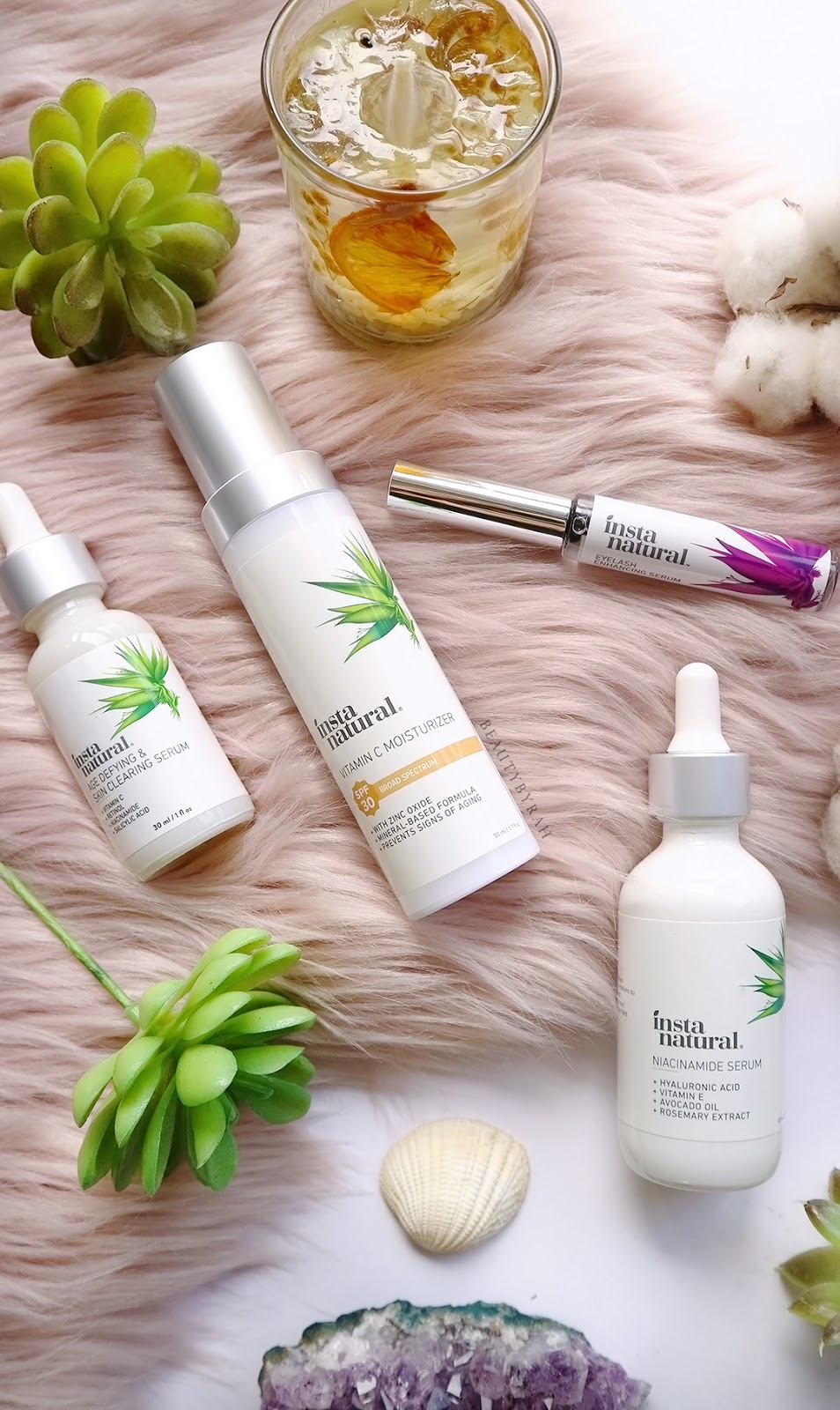 InstaNatural skincare from iHerb review