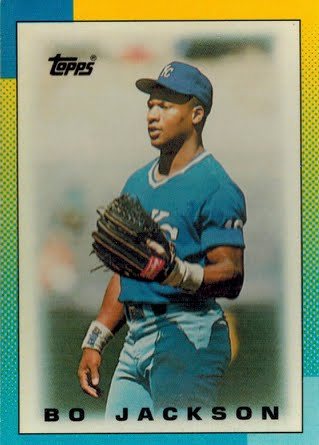 From A 1980s Baseball Card Collector 1990 Topps Minis 16 Bo Jackson