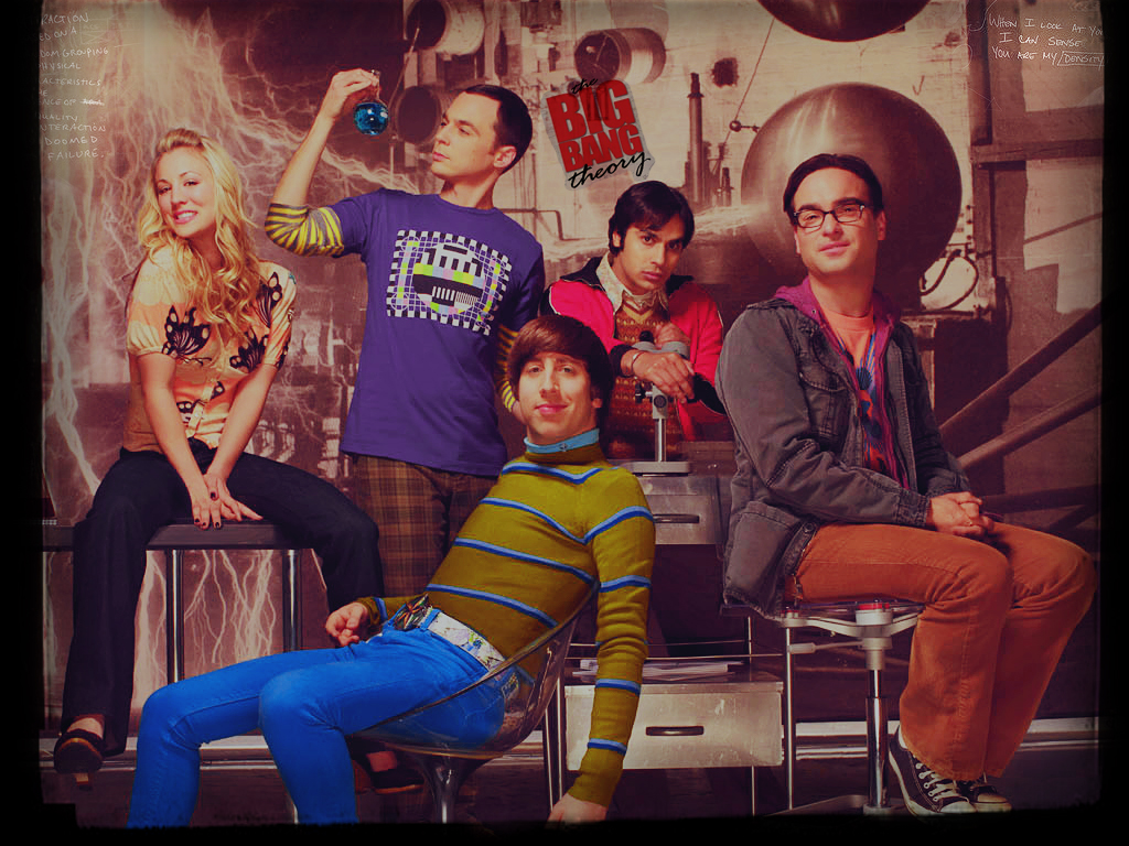 The Big Bagn Theory The Big Bang Theory Poster Gallery3 Tv Series Posters
