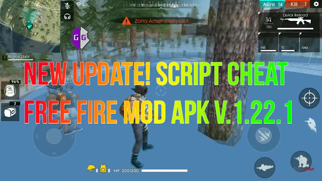 New Update! Script Terbaru Cheat Free Fire Version 1.22.1 + Script VIP