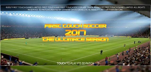 FTS 2017 3D Patch Ultimate Season Apk Final Edition by Danank