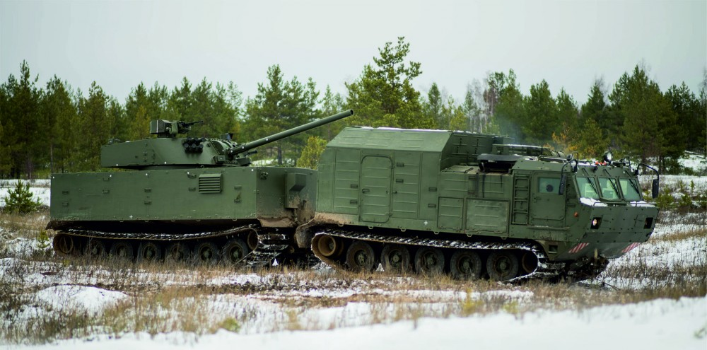 120-мм самохідна артилерійська установка Магнолія