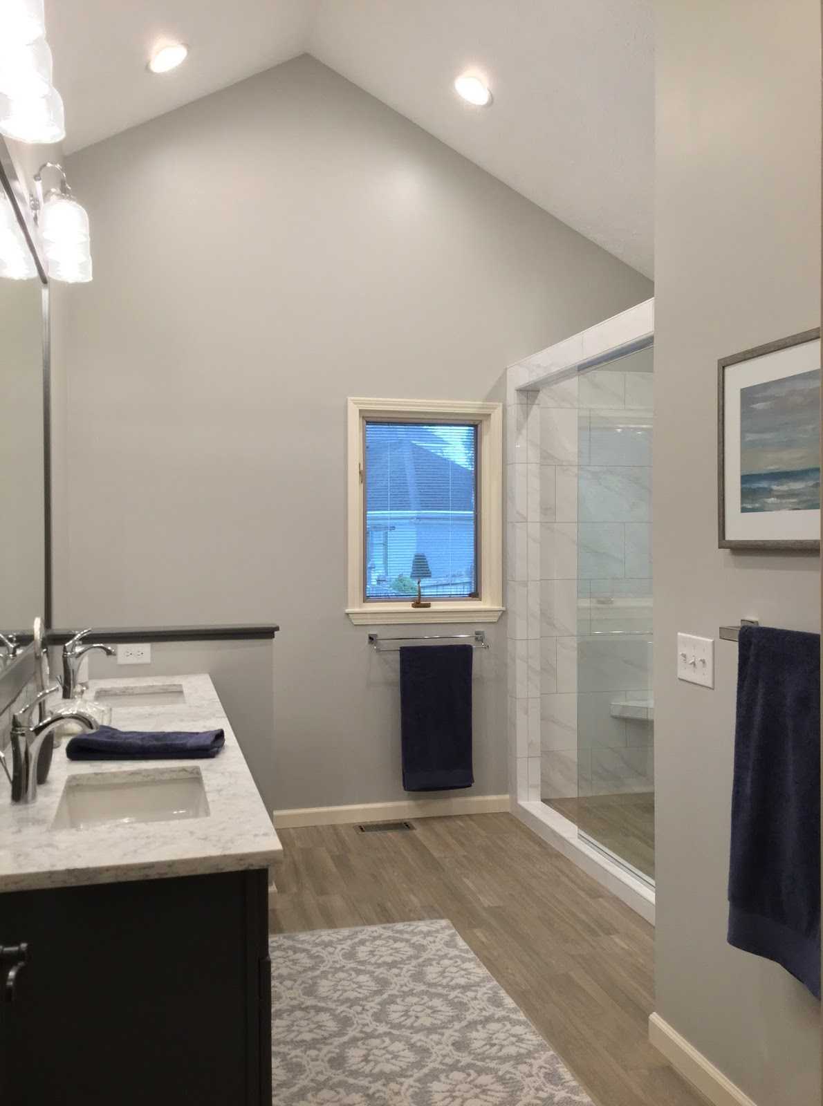 Cool Hope you enjoyed seeing this Master Bathroom en suite renovation e to life Onto the next project
