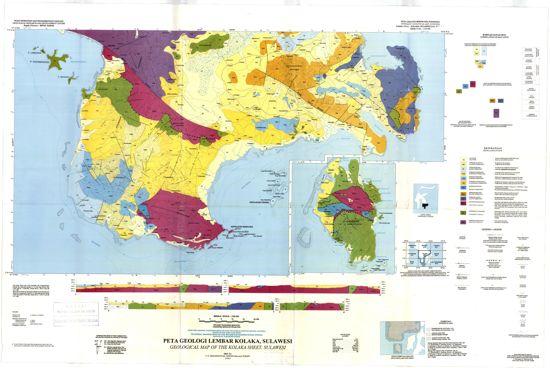 Peta Geologi Regional Lembar Kolaka Sulawesi Tenggara