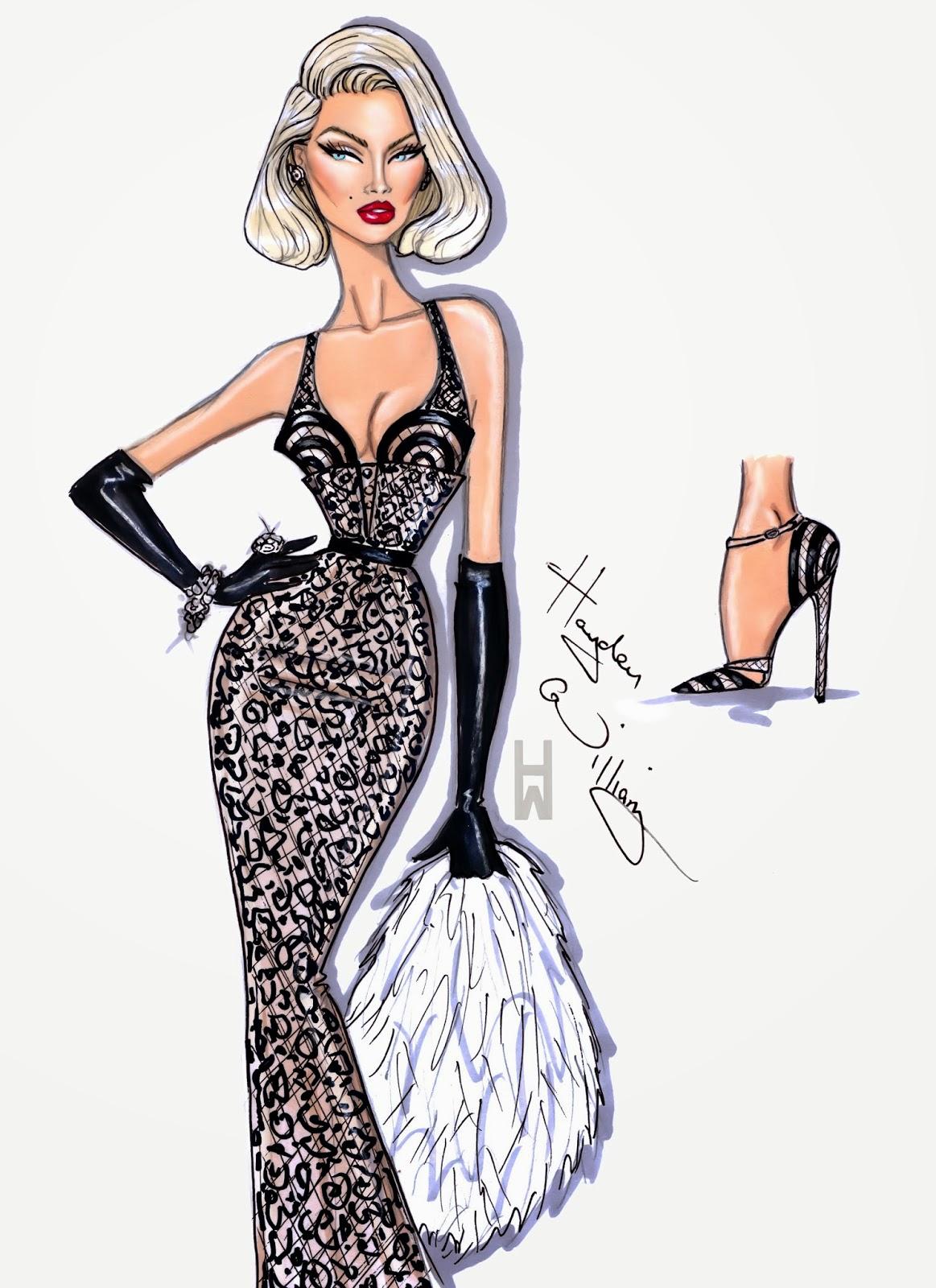 Hayden Williams Fashion Illustrations: November 2013