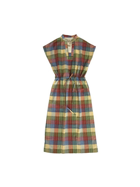 Ace & Jig Atwood Midi Dress in Madras