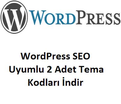 WordPress SEO Uyumlu 2 Adet Tema Kodları İndir